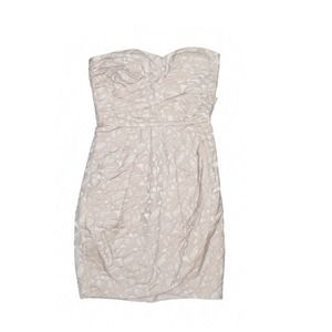 Nordstrom   max & cleo circle pattern dress size 4